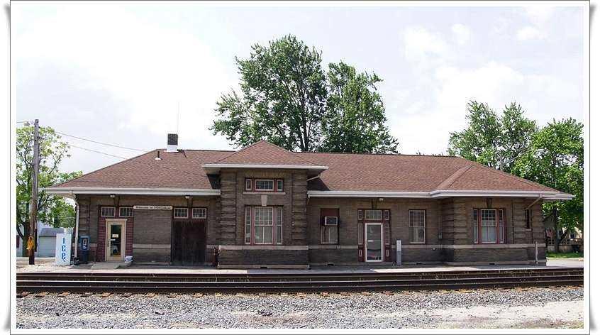 Fostoria Depots Buildings Train City Usa
